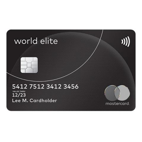 Carte World Elite.World Elite Mastercard Cartes De Credit Primes De Voyage